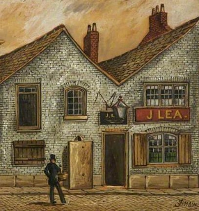 Lea's Public House, Bury by James Shaw (Bury Art Museum, Greater Manchester)