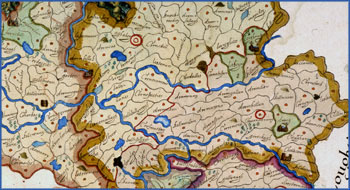 Map of the Barony of Tulleygarvey, Cavan, 1609 (National Archives)