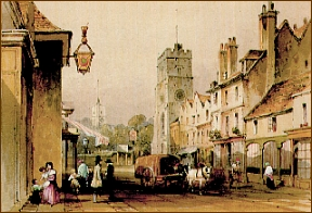 High Street, Putney, Surrey, by George S. Shepherd (British Library)