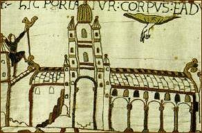 Westminster Abbey from the Bayeux Tapestry